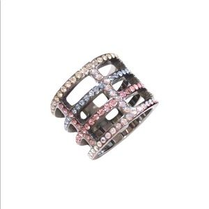 🇺🇸Chanel Iridescent Crystals Ring SHW🇺🇸
